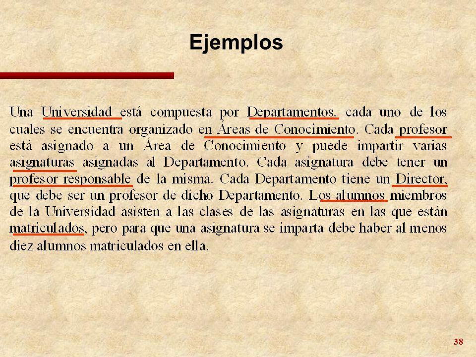 38 Ejemplos
