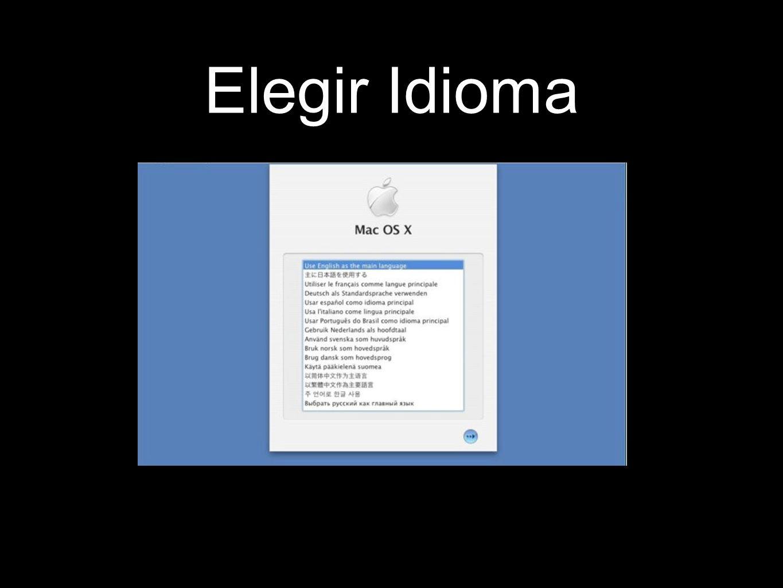 Elegir Idioma