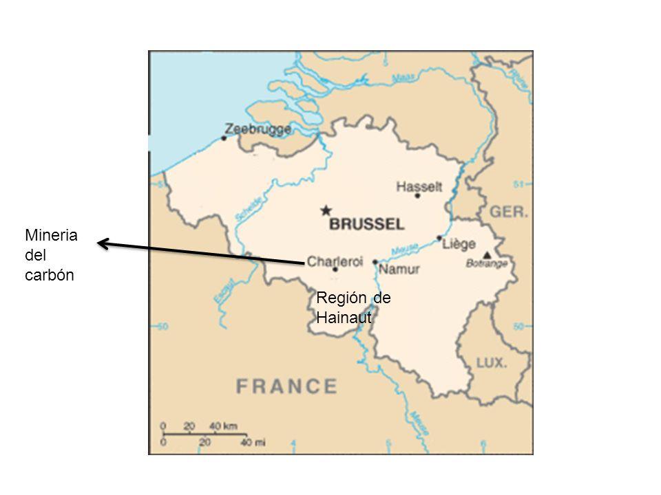 Mineria del carbón Región de Hainaut