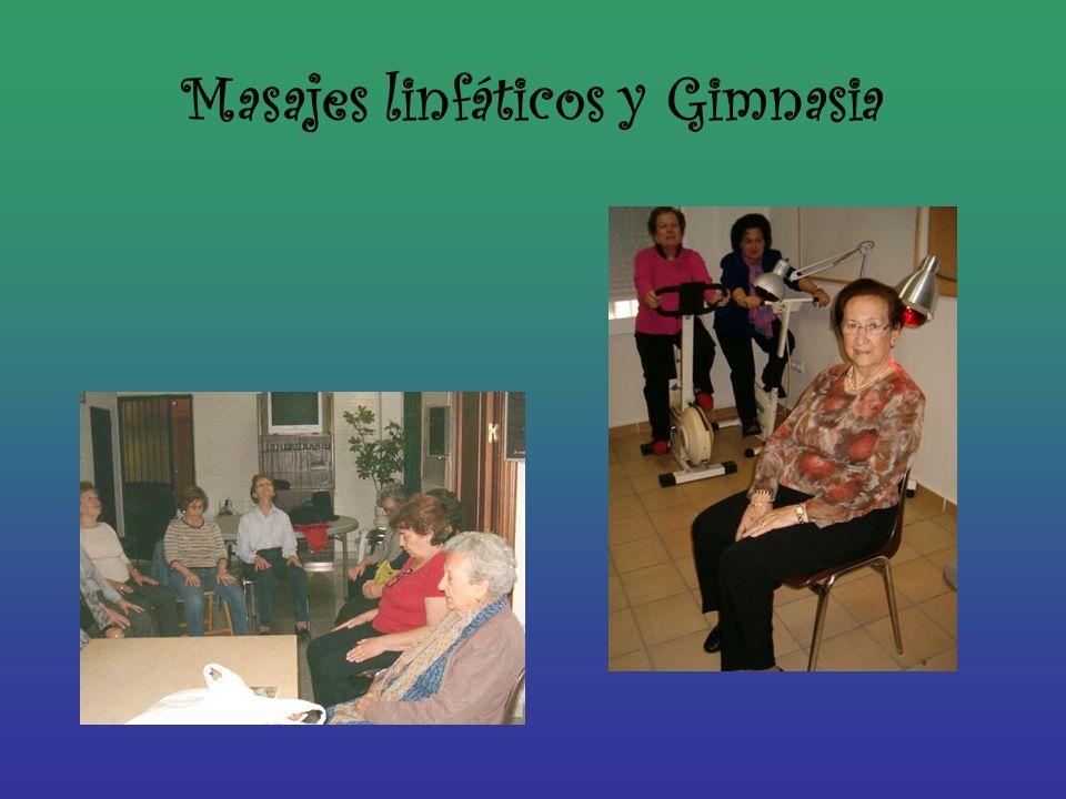 Masajes linfáticos y Gimnasia
