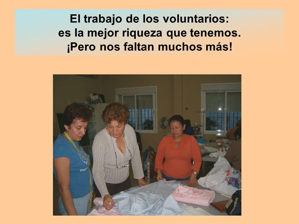 El trabajo de los voluntarios: es la mejor riqueza que tenemos. ¡Pero nos faltan muchos más!