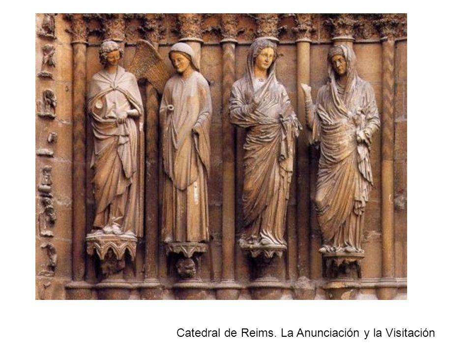 Catedral de Reims. La Anunciación y la Visitación