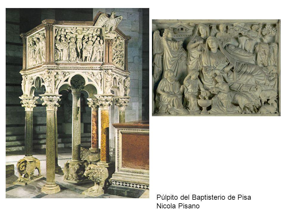 Púlpito del Baptisterio de Pisa Nicola Pisano