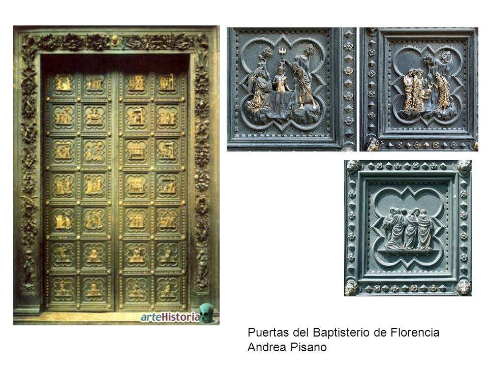 Puertas del Baptisterio de Florencia Andrea Pisano