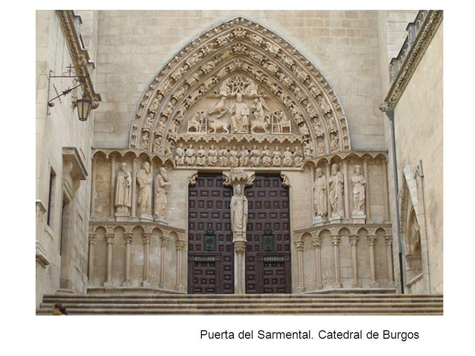 Puerta del Sarmental. Catedral de Burgos