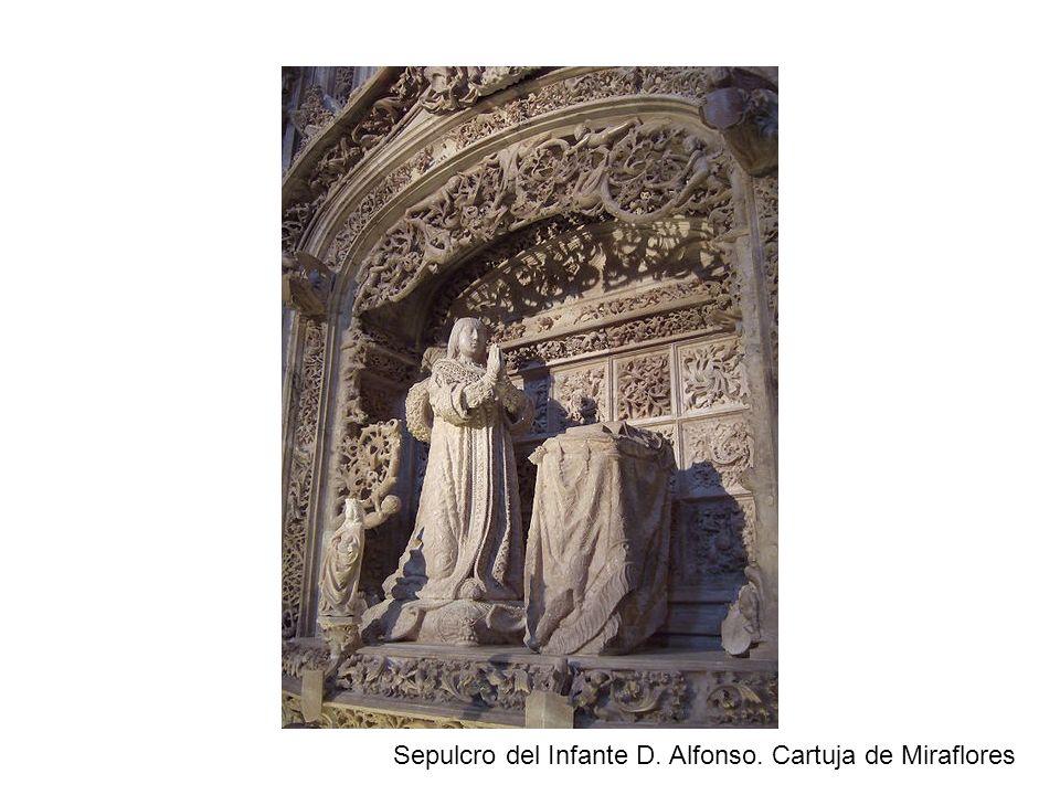 Sepulcro del Infante D. Alfonso. Cartuja de Miraflores