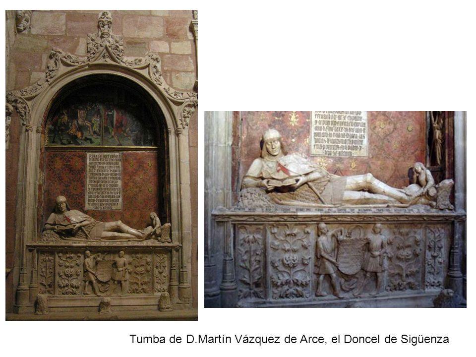 Tumba de D.Martín Vázquez de Arce, el Doncel de Sigüenza
