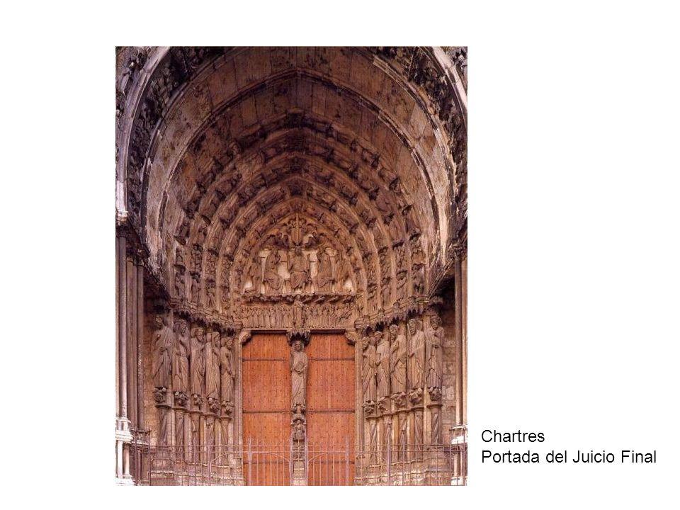 Chartres Portada del Juicio Final