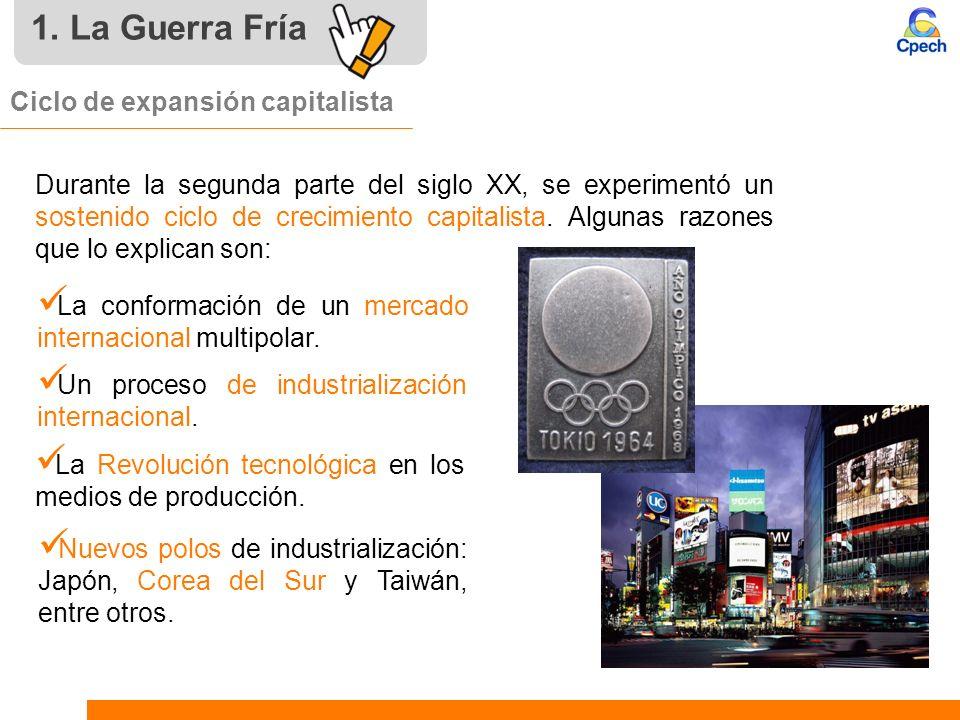 Ciclo de expansión capitalista La conformación de un mercado internacional multipolar. Un proceso de industrialización internacional. La Revolución te