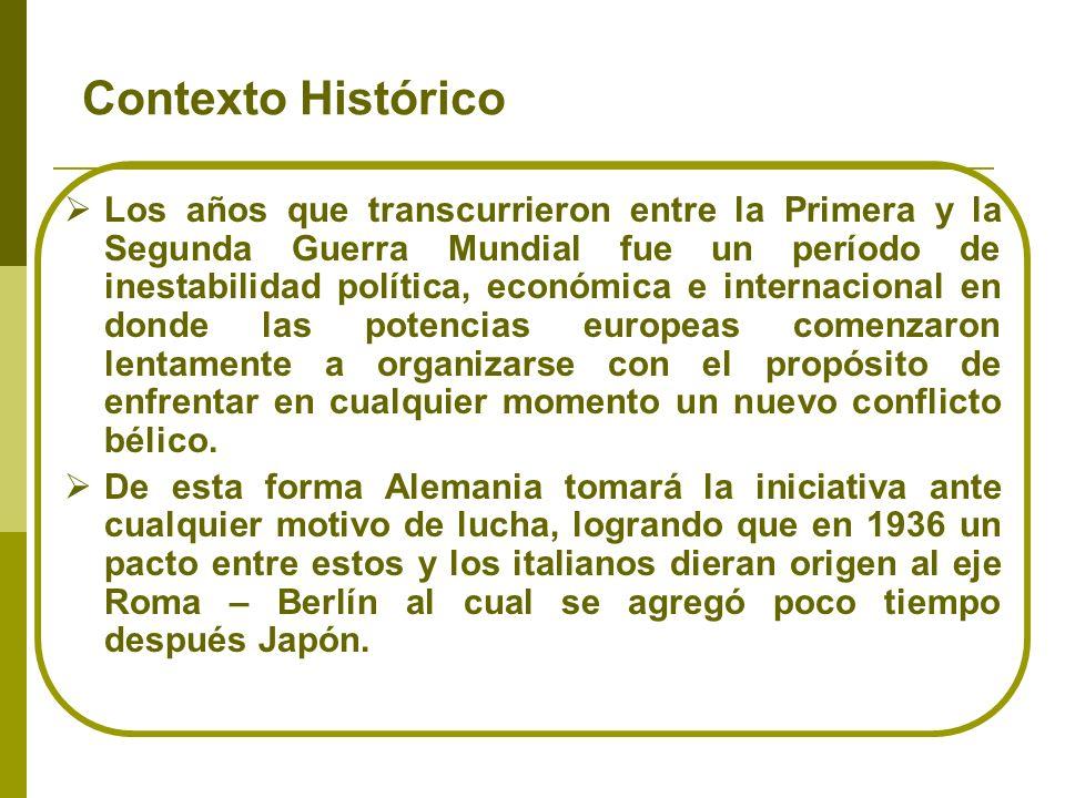 CONSECUENCIAS DE LA SEGUNDA GUERRA MUNDIAL POLÍTICAS Y TERRITORIALES ECONÓMICA S DEMOGRÁFICAS DIVISIÓN DE EUROPA (MANIFESTADA EN PRIMER LUGAR EN ALEMANIA) AVANCE DEL PROCESO DE DESCOLONIZACIÓN EMERGENCIA DE EEUU Y LA URSS: FORMACIÓN DE LOS BLOQUES CARTA DE ORGANIZACIÓN DE LAS NACIONES UNIDAS (CONFERENCIA DE SAN FRANCISCO, 1945) PREPARACIÓN DE LA PAZ (INICIADA EN 1941 CON LA CARTA DEL ATLÁNTICO) 55 MILLONES DE MUERTOS, 35 DE DESAPARECIDOS...