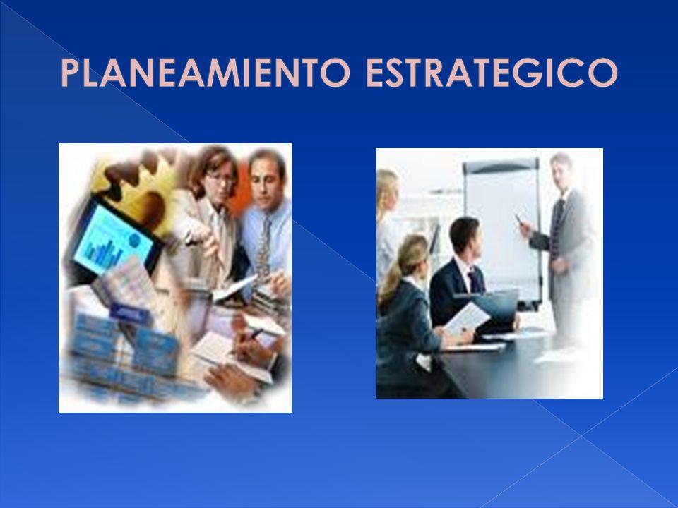 En este momento se hacen las declaraciones que caracterizarán a la organización.