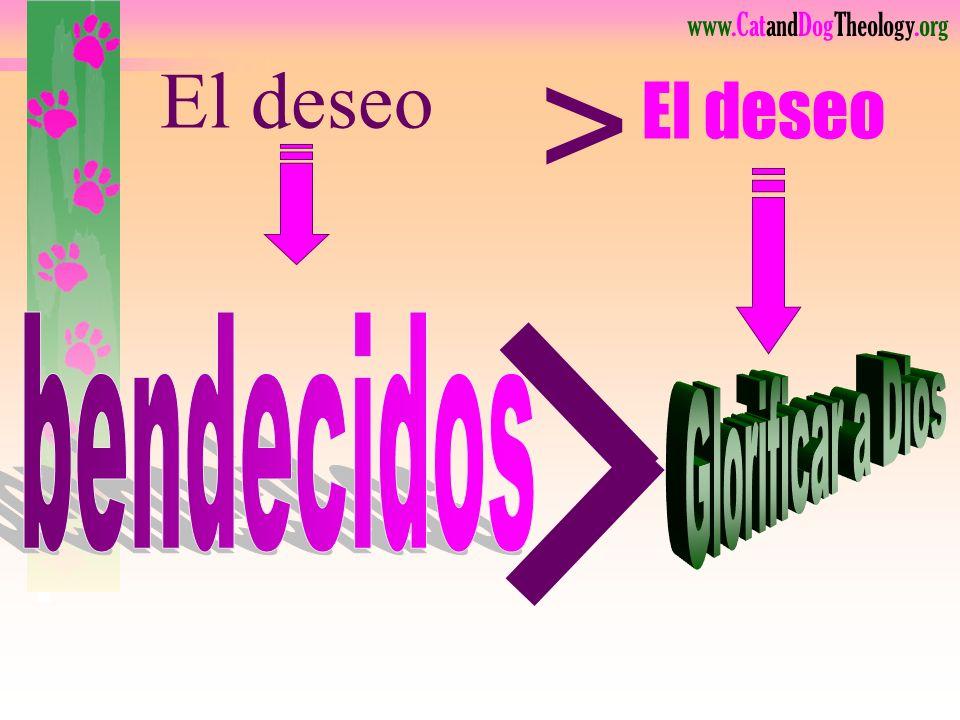 www.CatandDogTheology.org Cosas … ¡Todo es sobre cosas! Amo los regalos más que al dador, Señor, Por favor no me los quites todos, es tan difícil. Env