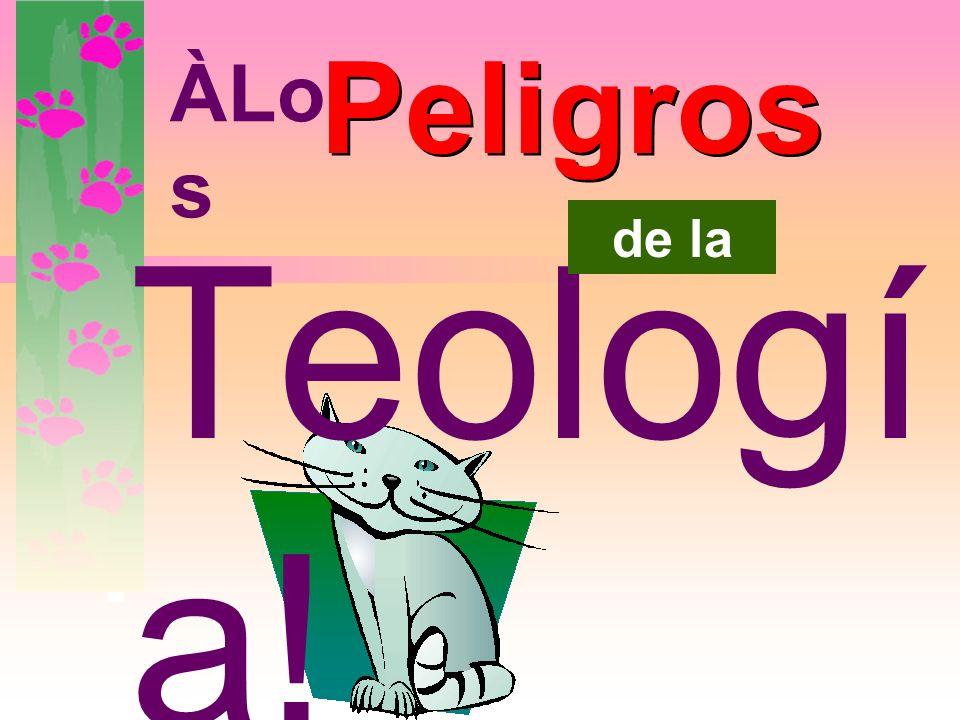 www.CatandDogTheology.org incomPleta … a incorrecta? ¿La teología de los gatos puede pasar de