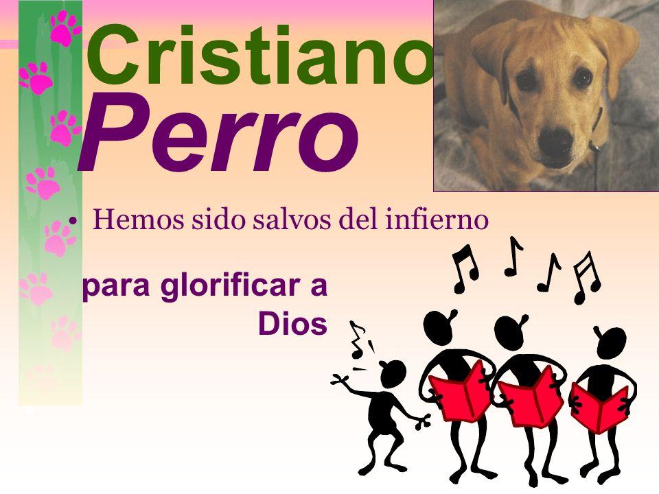 www.CatandDogTheology.org Hemos sido salvos del infierno. gato Cristia no No es incorrecto, pero ESTÁ incompleto.