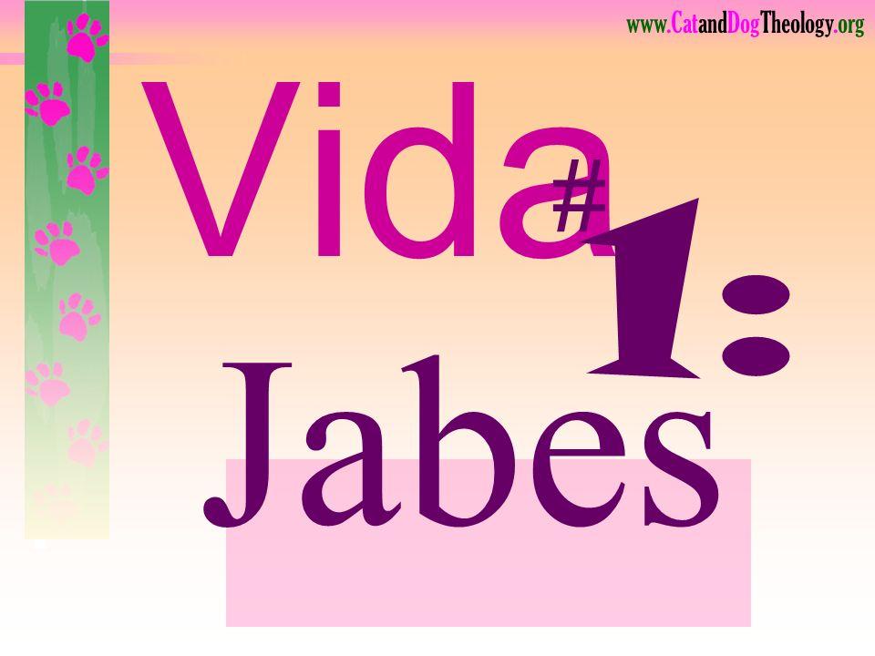 www.CatandDogTheology.org Tres Vidas: Jabes MuchachaEsteban 1 Crónicas 4:10 Hechos 6,7 2 Reyes 5:1-15