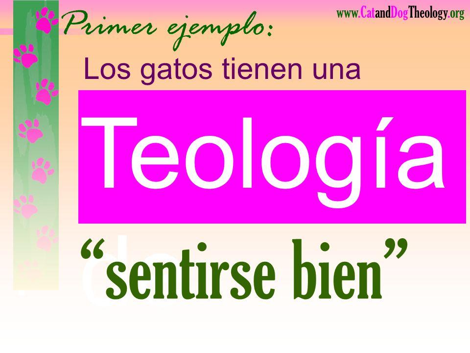 www.CatandDogTheology.org Su gloria sólo al salvarnos. Bien traducido: Dios desea mostrar
