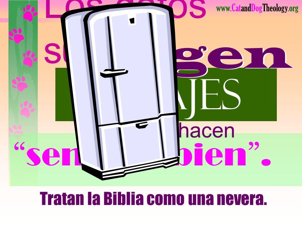 www.CatandDogTheology.org La bondad de Dios se enfoca en mí: Jesús murió para darme buena vida.