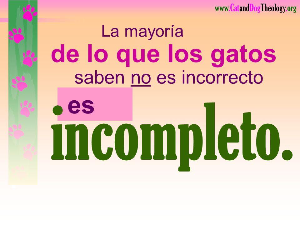 www.CatandDogTheology.org JesúsDios Gloria Su V I V E P A R A Incompleta V I V E P A R A