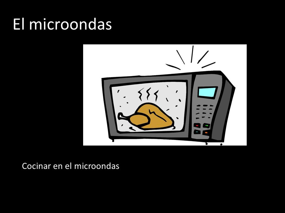 El microondas Cocinar en el microondas