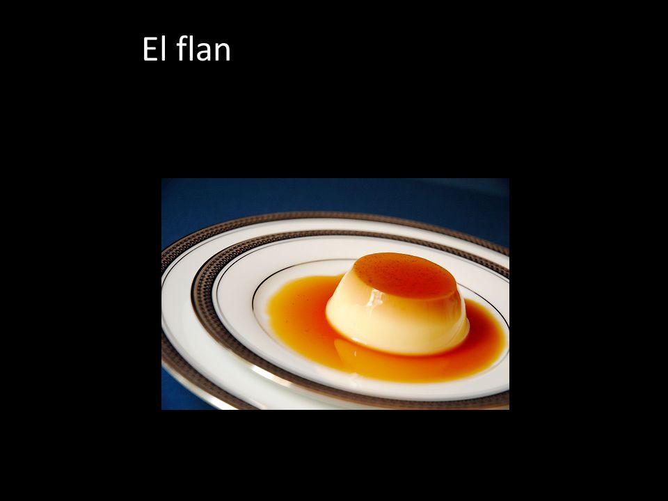 El flan