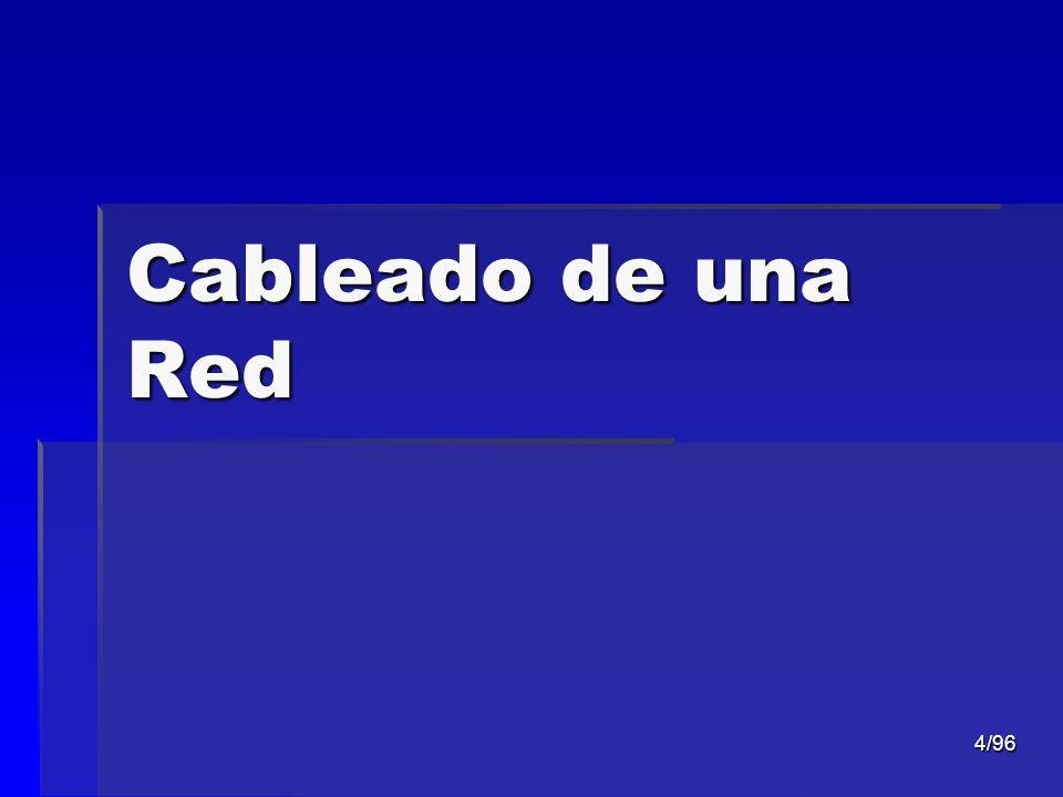 4/96 Cableado de una Red