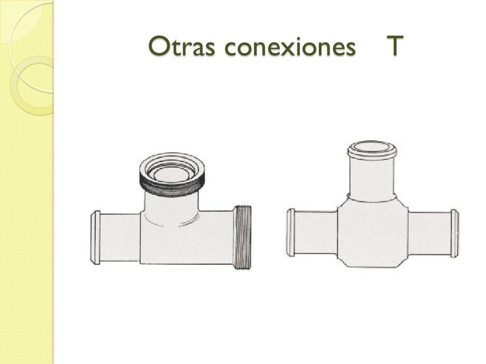 Otras conexiones T