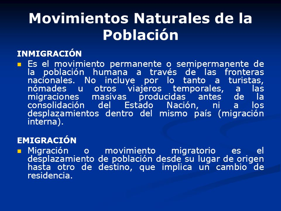 Movimientos Naturales de la Población NATALIDAD El término natalidad hace referencia al conjunto de nacidos vivos en una comunidad durante un periodo