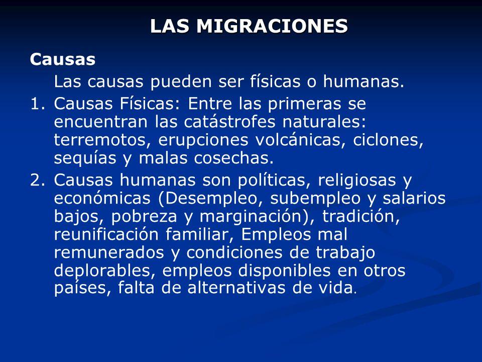 Clasificación de las migraciones Las migraciones se pueden clasificar desde dos puntos de vista: el temporal y el geográfico o espacial. 1. 1.Desde el