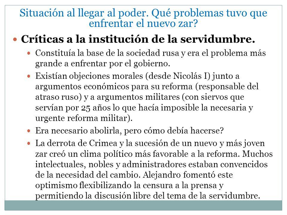 E) Reformas Educativas Hasta ese momento la enseñanza: hijos varones de nobles.