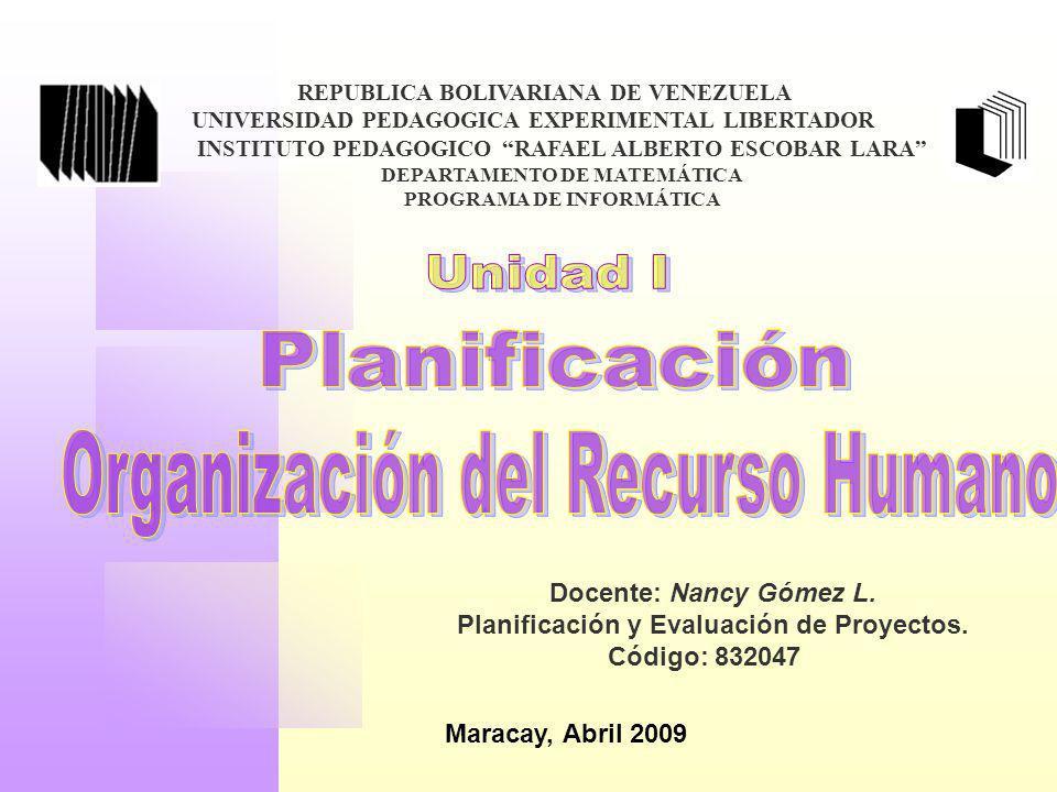 REPUBLICA BOLIVARIANA DE VENEZUELA UNIVERSIDAD PEDAGOGICA EXPERIMENTAL LIBERTADOR INSTITUTO PEDAGOGICO RAFAEL ALBERTO ESCOBAR LARA DEPARTAMENTO DE MAT