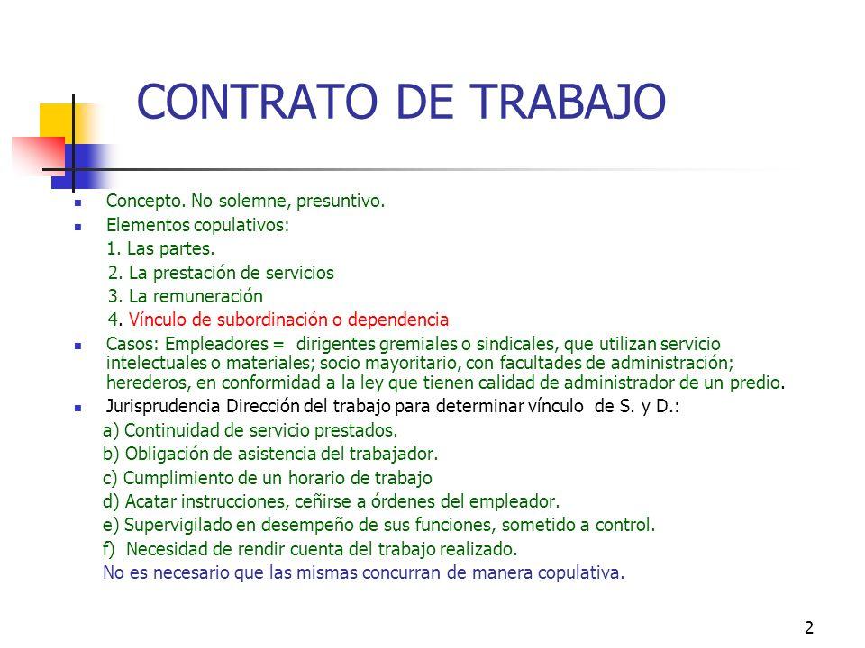 1 CAPITULO II RELACION LABORAL Connotaciones ético-jurídicas de R.L.: Contrato T. trasciende obligación y valoración pecuniaria del trabajo hacia bien