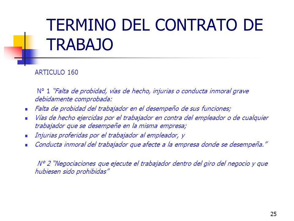 24 ARTICULO 159 N° 6 Caso fortuito o fuerza mayor - Jurisprudencia Administrativa, señala las sgts. condiciones: 1. Que sea imprevisto; 2. Que sea ins