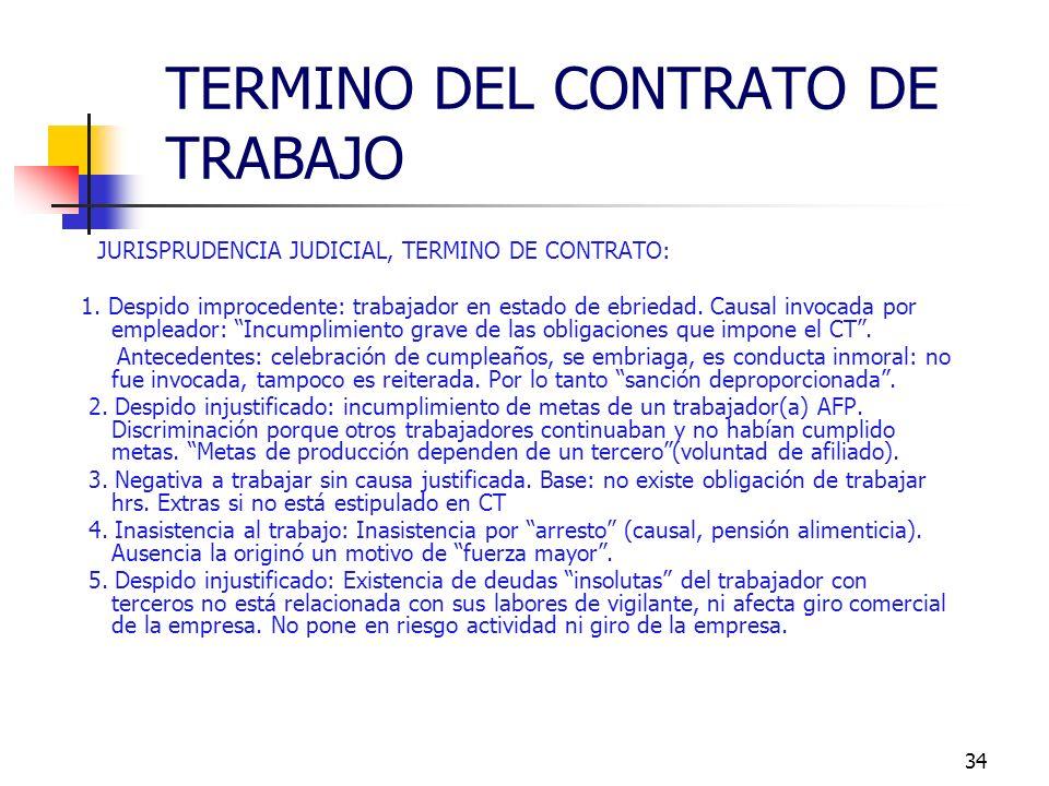33 ARTICULO 171 Despido indirecto - Procedimientos a ejecutar por el trabajador: a) Aviso escrito al empleador en el plazo de 3 días hábiles, contados