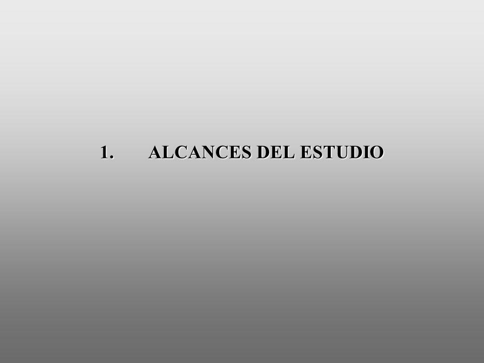 1.ALCANCES DEL ESTUDIO