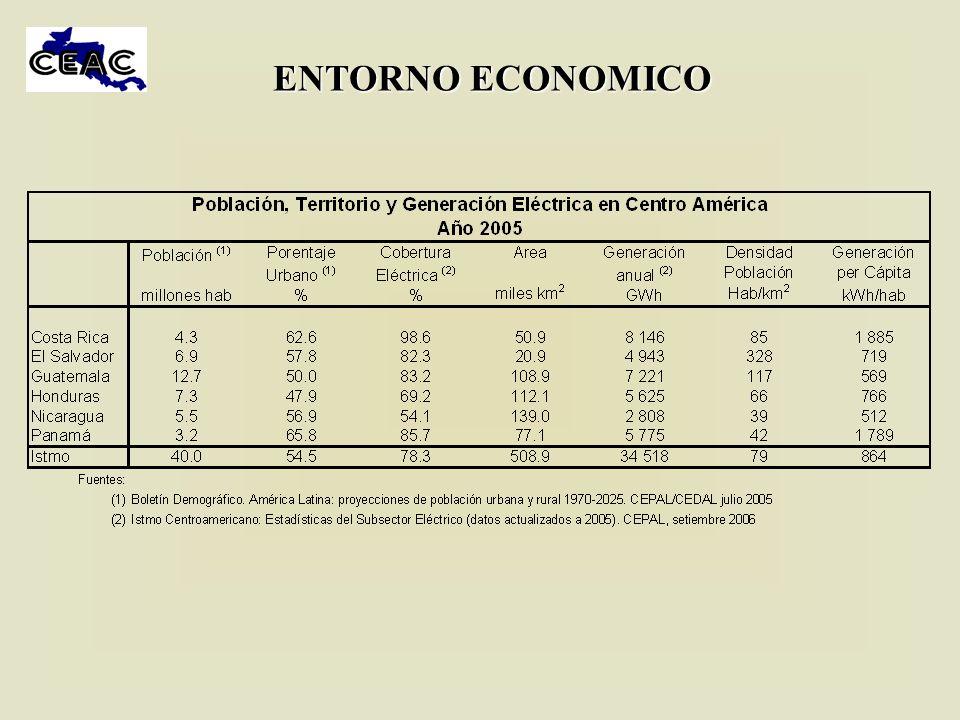 INSTALACION PREVISTA EN EL CORTO PLAZO Cada país aportó el plan de expansión de corto plazo Es notoria la poca instalación que se añadirá en el período 2006-2008 En ese trienio la instalación total crece un 4.3%, mientras la demanda aumenta un 14%