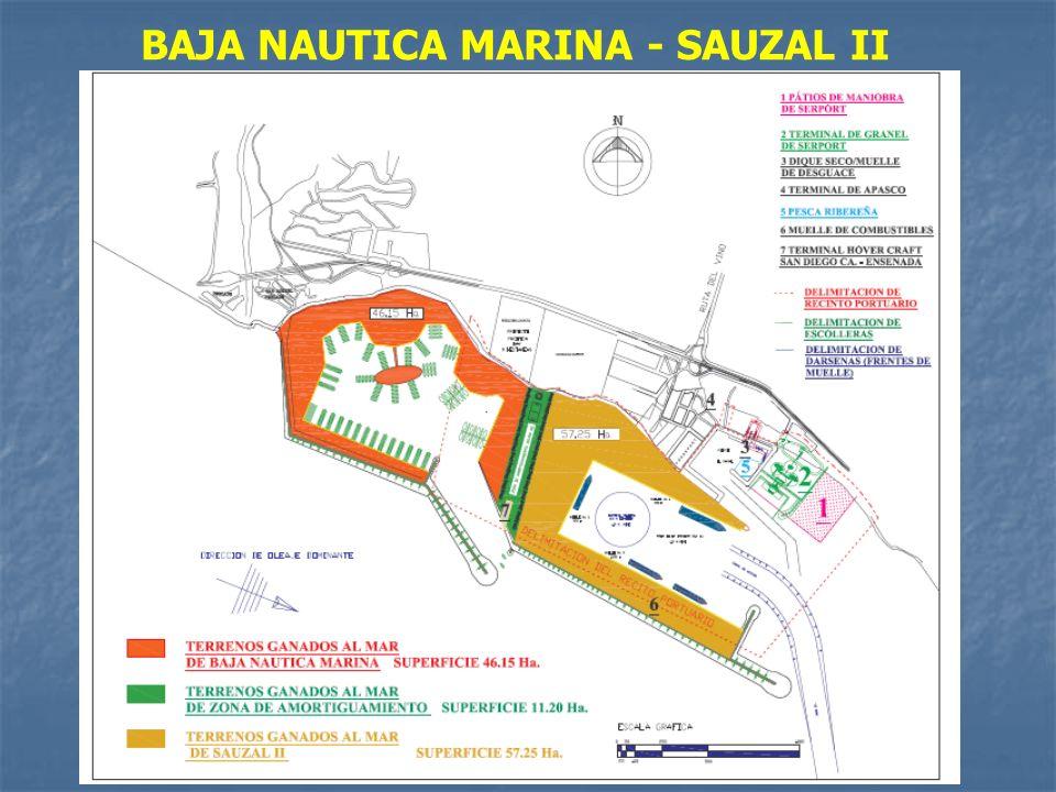 BAJA NAUTICA MARINA - SAUZAL II
