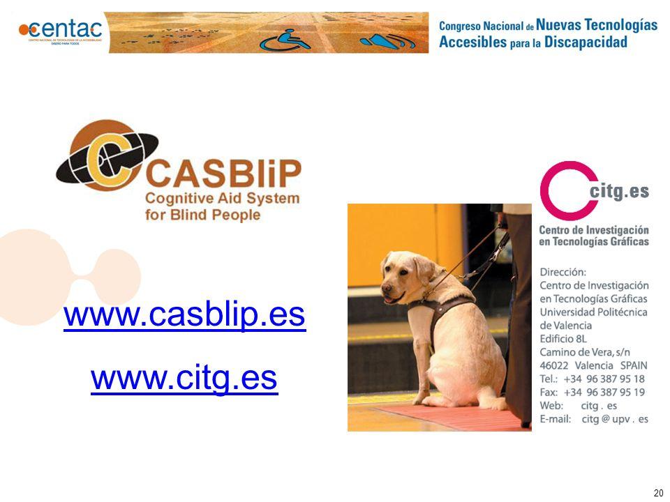 20 www.casblip.es www.citg.es