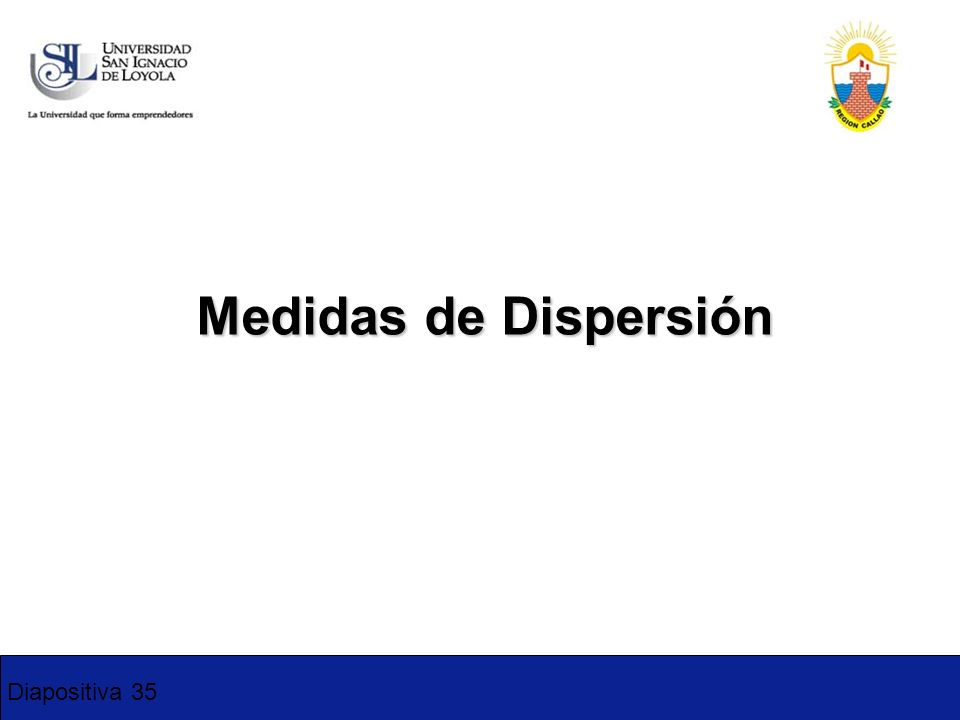 Diapositiva 35 Medidas de Dispersión 1-2