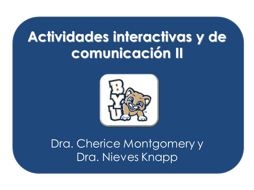 Connect with Other Disciplines and Acquire Information Standard 3.1: Students reinforce and further their knowledge of other disciplines through the foreign language Standard 3.2: Students acquire information and recognize the distinctive viewpoints that are only available through the foreign language and its cultures Conexiones