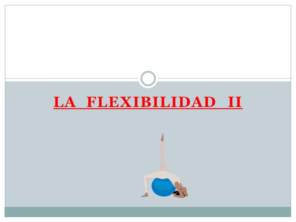 LA FLEXIBILIDAD II
