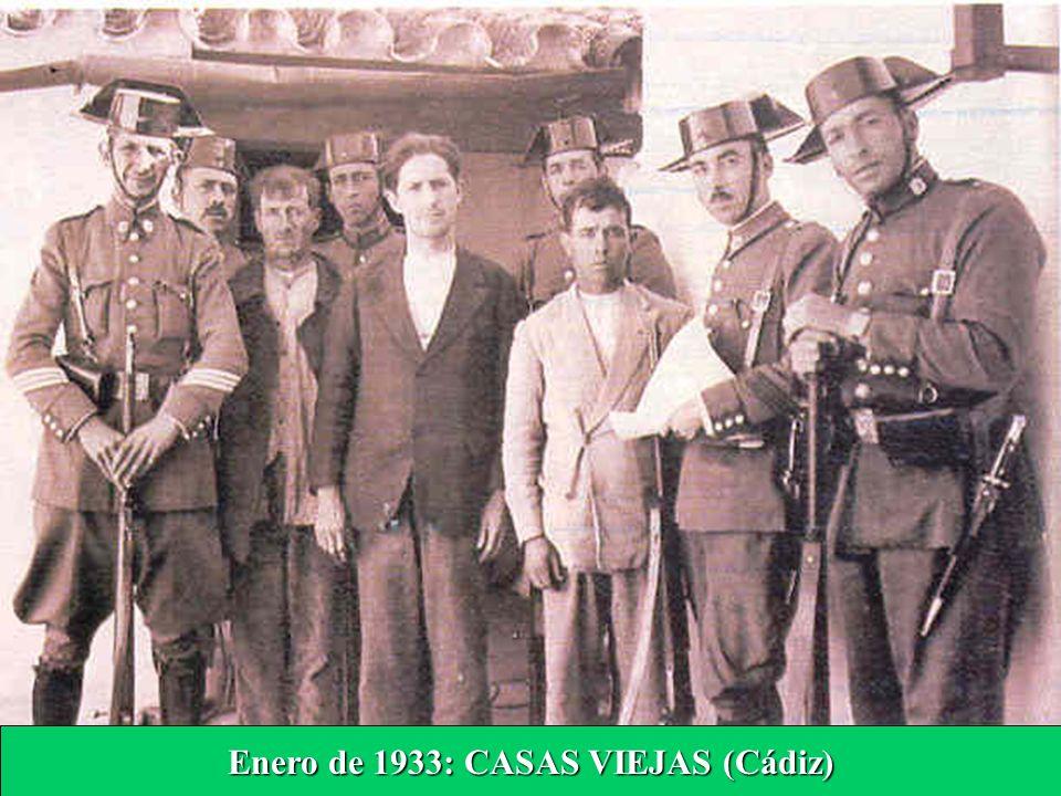 Enero de 1933: CASAS VIEJAS (Cádiz)