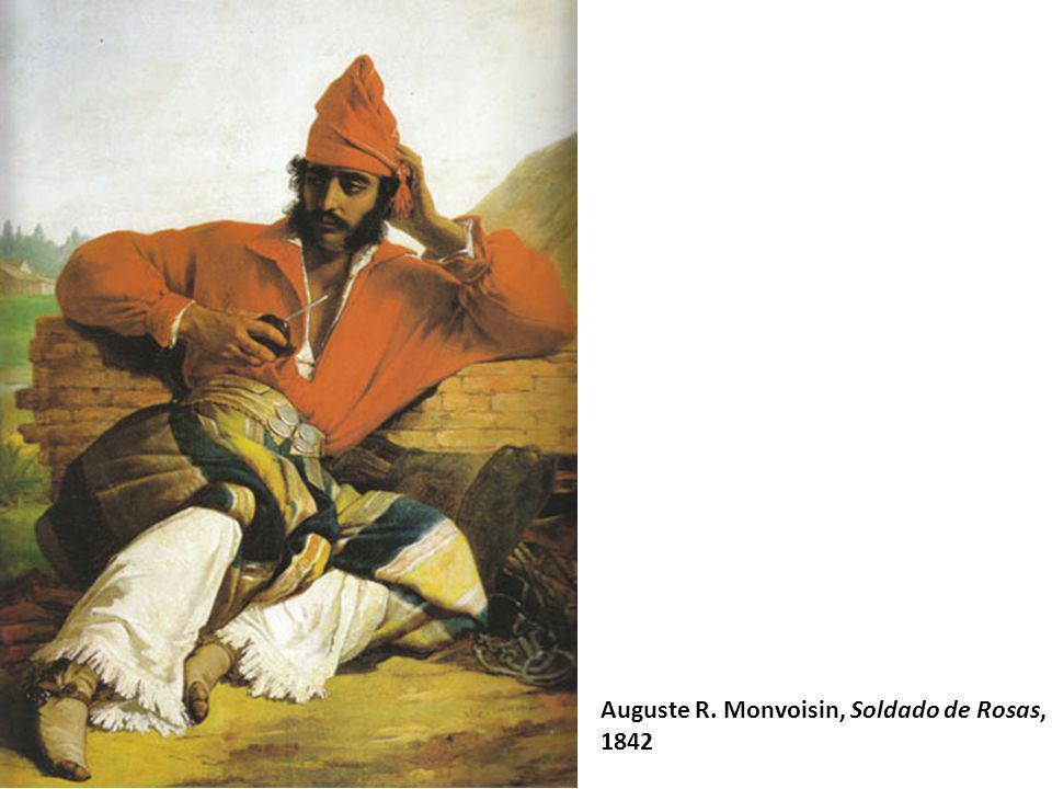 Auguste R. Monvoisin, Soldado de Rosas, 1842