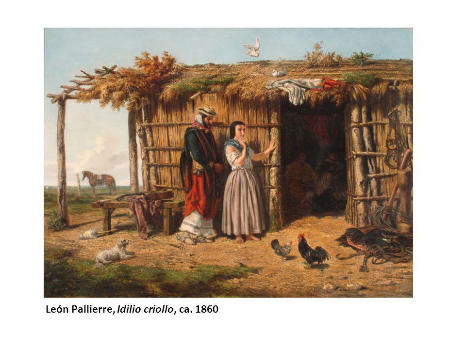 León Pallierre, Idilio criollo, ca. 1860