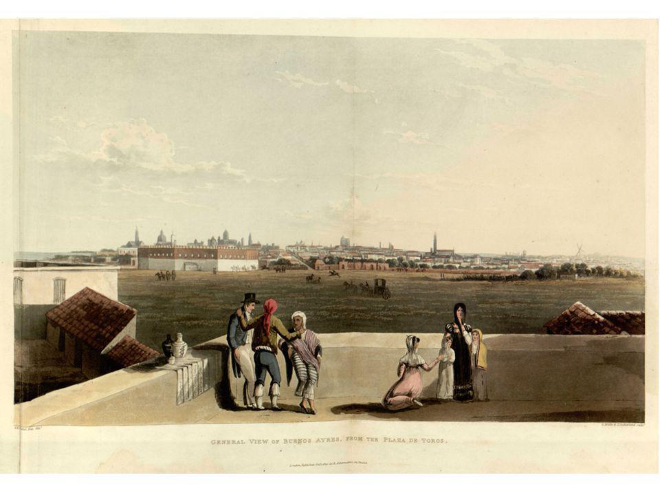 Carlos E. Pellegrini, El matadero de Buenos Aires, acuarela, 1830.