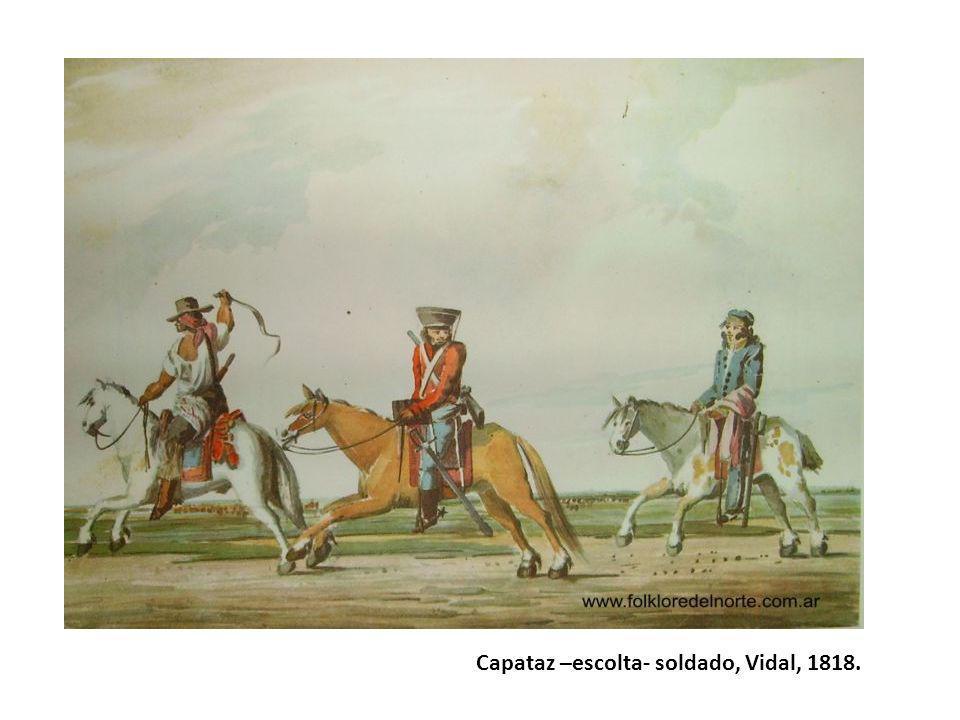 César Hipólito Bacle Peinetones Buenos Aires, 1834 (litografía)
