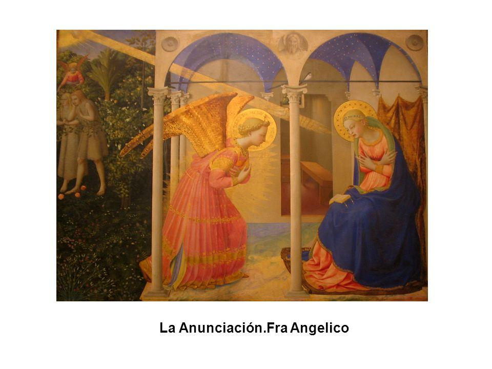 La alegoría de la Primavera (Céfiro persiguiendo a Flora). Sandro Botticcelli