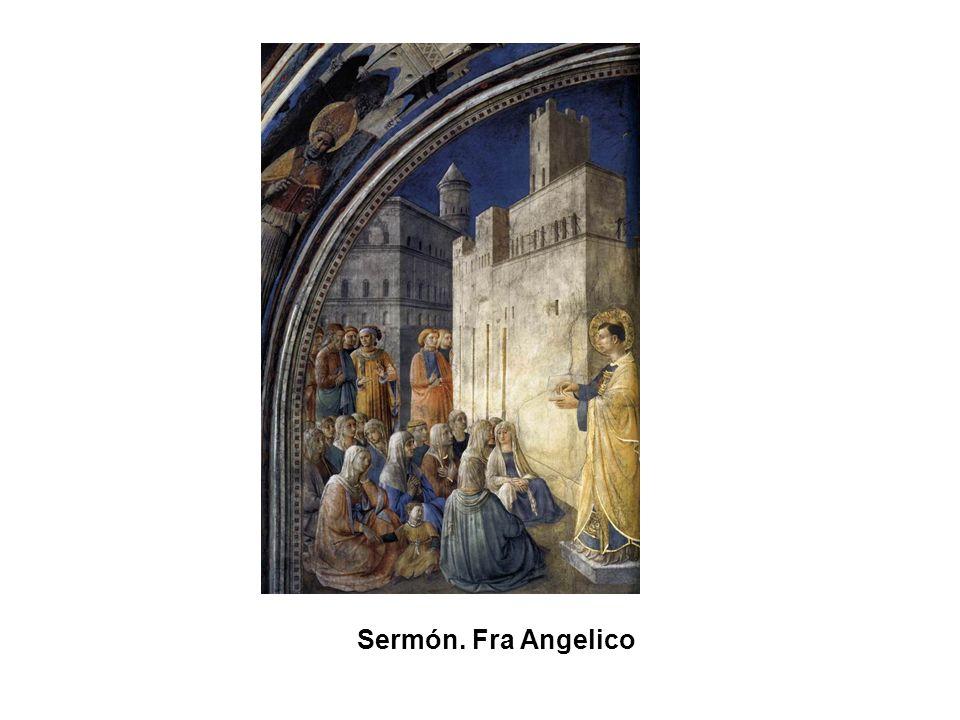 Anunciación. Beato Angelico