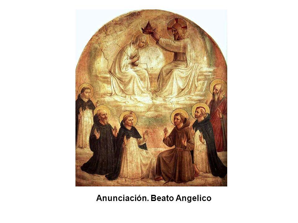 Anunciación(detalle). Beato Angelico