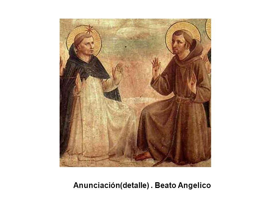 Santo Domingo al pie de la Cruz. Beato Angelico
