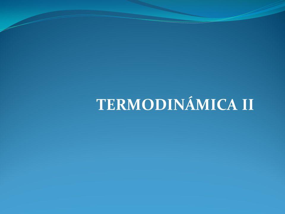 TERMODINÁMICA II
